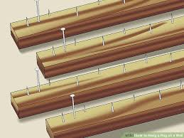 Wall Rugs Hanging 3 Ways To Hang A Rug On A Wall Wikihow