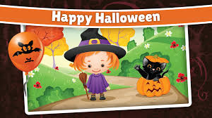spooky halloween background sounds spooky halloween puzzle for kids u0026 toddlers android apps on