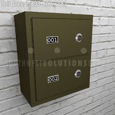 In Wall Security Cabinet Wall Mounted Gun Drop Boxes Locking Pistol Security Cabinets