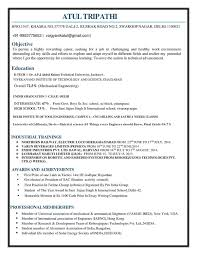 Online Fresher Resume Creator by What Is The Best Resume For Mechanical Engineer Fresher Quora