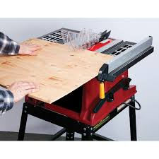 central machinery table saw fence 10 in 15 amp benchtop table saw