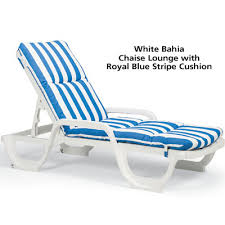 Chaise Lounge Cushions Cheap Living Room Awesome Grosfillex 44031004 Bahia Stackable Chaise
