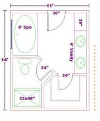 Floor Plan For Small Bathroom 10 X 8 Bathroom Layout With Window At End Google Search Floor