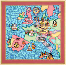Hinduism Map On The Cover Of Hinduism Today Magazine Older Blog Posts