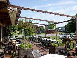 Pergola Awning Retractable by Level Retractable Deck U0026 Patio Awnings Sunair