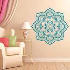 Om Wall Decal Mandala Vinyl by Online Buy Wholesale Flower Wall Sticker Mandala Mehndi From China