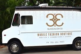 hop into bungalow 33 miami u0027s latest fashion truck racked miami