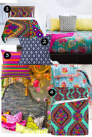 Best INTERIORSCOLOURFUL Images On Pinterest Spaces Home And - Colourful bedroom ideas
