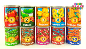 learn to count with fruit and vegetables toy learn fruits and