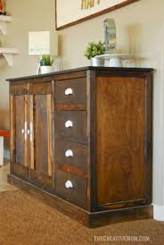 buffet cabinet free building plans the creative mom