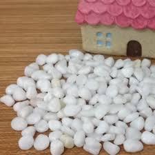 aliexpress com buy white color pebbles stones decoration for