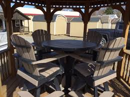 Outdoor Furniture Syracuse Ny by Poly Furniture Pine Creek Structures