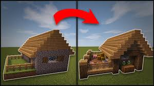 How To Remodel A House by Minecraft How To Remodel A Village Butcher U0027s Shop Youtube