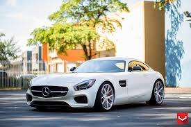 lowered amg the vossen mercedes amg gt s build