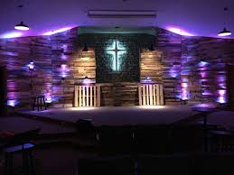 a look at some awe inspiring church staging and set ideas that