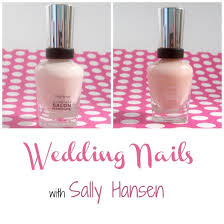 wedding nails with sally hansen style on main