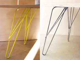 pied de bureau bois pied table metal design avec table legs steel stand by sebastian