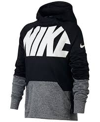 nike sweaters nike therma colorblock hoodie big boys sweaters baby