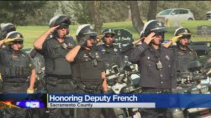 Army Service Flag Honor Flag Arrives In Sacramento Ahead Of Deputy French U0027s Memorial