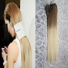 beaded hair extensions ombre micro loop easy rings hair extensions 1g 100g 6 613