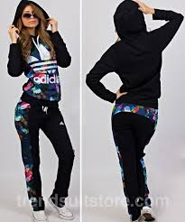 womens adidas jumpsuit article cdf00020 floral tracksuit order of this product