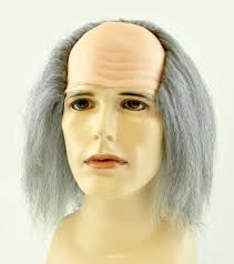 haircut for older balding men with gray hair balding old man wig costumes wigs theater makeup and accessories