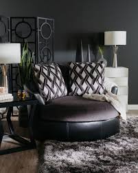 Oversized Accent Chairs Ashley Kumasi Smoke Oversized Swivel Accent Chair Mathis