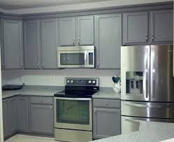 Federal Grey Lightly Distressed With Rustoleum Cabinet - Kitchen cabinet kit