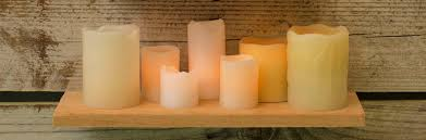 flameless candles electric in and battery operated candles