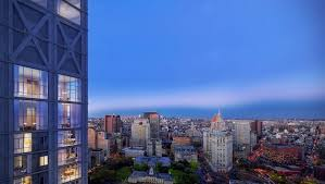 a penthouse at new york by gehry asks 40k month dailydeeds