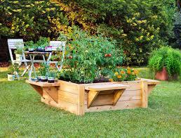 raised garden kitset home outdoor decoration