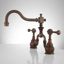 rubbed kitchen faucet vintage bridge kitchen faucet lever handles kitchen