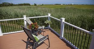 Outdoor Banister Outdoor Railings Composite Railing Rdi