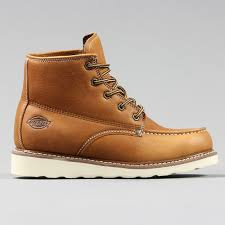 dickies mens illinois boots chestnut brown outdoor fashion shoes