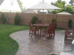 Backyard Stamped Concrete Patio Ideas Stamped Concrete Patio Designs Decorative Stamped Concrete