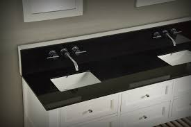 black countertop with black sink 70 mission double bathroom vanity sink console direct to you furniture