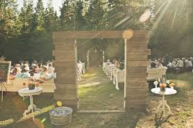 Country Backyard Wedding Rustic Backyard Wedding Full Of Vintage Elegance
