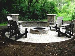 Patio Firepits A Best Pit Kit Ideas On Pinterest Outdoor Square Paver Patio