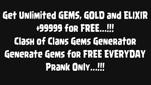 gems for clash of clans prank for android free download and