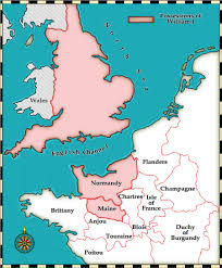 A Map Of England by Medieval And Middle Ages History Timelines William The