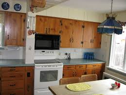 Rustic Cabin Kitchen Cabinets Cottage Kitchen With Inset Cabinets U0026 One Wall In Schenectady Ny