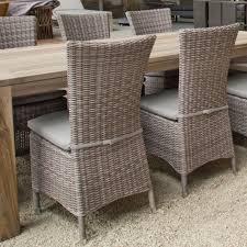 chaises tress es chaise en résine tressée 1 2 corde cappuccino utica