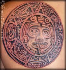 flower designs 1344401394 aztec tattoos designs picture