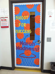 March Bulletin Board March Madness Themed Classroom Door