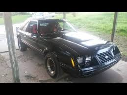 83 mustang gt for sale 83 mustang gt foxbody t top 5 speed sounds amazing