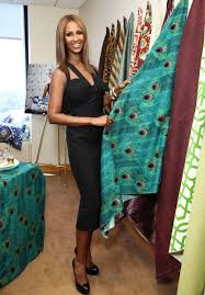 Iman Home Decor Iman Home Fabric Proud As A Pinterest Supermodel Iman