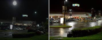 Led Parking Lot Lights Before And After Of Installing Led Parking Lot Lights At W U2026 Flickr