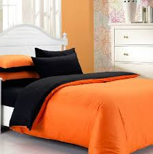Orange Bed Sets Solid Orange Comforter 10 Bright Orange Comforters And