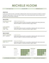Contemporary Resume Templates Free Download Contemporary Resume Haadyaooverbayresort Com
