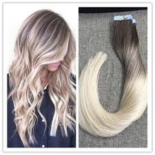 glue in hair extensions shine balayage in hair extensions ombre balayage